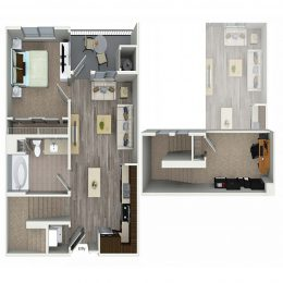 Bell South Bay A1D Floor Plan