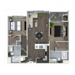Bell South Bay B2C Floor Plan