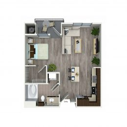 Bell South Bay S1A Floor Plan