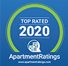 Apartment Ratings 2020 award badge